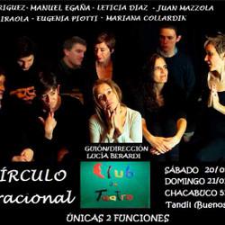 """Se presenta """"El Círculo Generacional"""" en el Club de Teatro"""