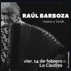 Raúl Barboza en Tandil!