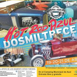 Este viernes se presentará el Hot Rod Azul 2013