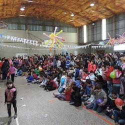 1200 personas disfrutaron del Día del Niño