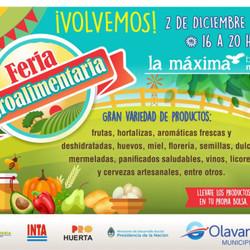 """En diciembre se realiza la Feria agroalimentaria en el Bioparque """"La Máxima"""""""