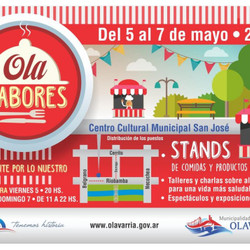 """Del 5 al 7 de mayo se realizará la feria gastronómica """"Ola Sabores"""""""