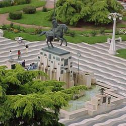 Acto por el 237º aniversario del nacimiento del Gral. San Martín
