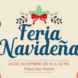 La Feria de Navidad se realizará en la Plaza Central