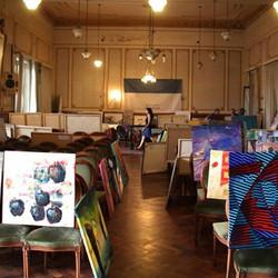 XXXII Salón Azul Nacional de Artes Plásticas en Pintura y Dibujo