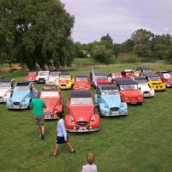 Este fin de semana se realiza el Encuentro de Citroën