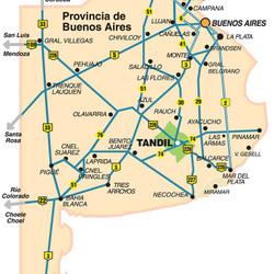 ¿Cómo llegar a Tandil? - Rutas de Buenos Aires