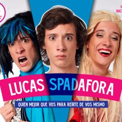 Lucas Spadafora, ganador del Martín Fierro digital, presenta su show