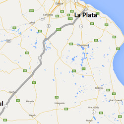 Horarios de Micros entre Azul y La Plata