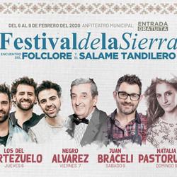 El Festival de la Sierra tendrá al Negro Álvarez, Nati Pastorutti, Los del Portezuelo, entre otros