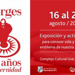 """Azul homenajea a Borges con la muestra """"30 años de eternidad"""""""