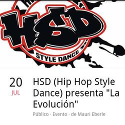 "HSD (Hip Hop Style Dance) presenta ""La Evolución"""