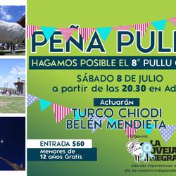 """Se realizará una nueva """"Peña Pullú"""" en el Centro Cultural ADIFA"""
