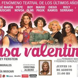 """Llega la exitosa obra """"Casa Valentina"""" al Teatro"""