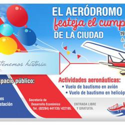 Aniversario de la ciudad en el Aeródromo