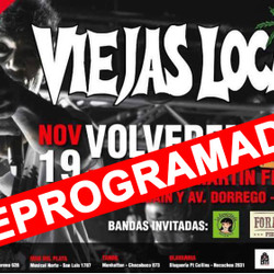 REPROGRAMADO: Tandil vibrará con el show de Viejas Locas