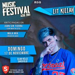 Lit Killah en Music Festival 2019