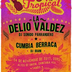 """Fiesta Invasión Tropical, en vivo la orquesta de Cumbia """"La Delio Valdez"""""""