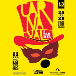"""El sábado próximo llegar el """"Carnaval de mi Tandil"""" a Gardey"""