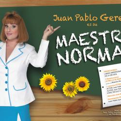 """Juan Pablo Geretto vuelve al Español con su """"Maestra Normal"""""""
