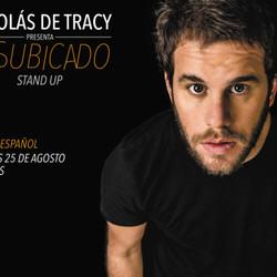 "Nico de Tracy presenta ""Desubicado"" Stand Up"