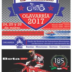 Se realizará el 5° Motoencuentro Olavarria 2017