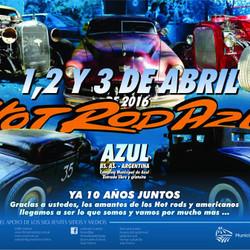 Hot Rod Azul 2016