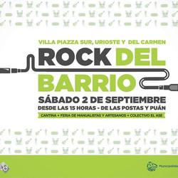 Se realizará el primer encuentro del Rock del barrio