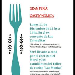 Feria Gastronómica en el ex Convento de Las Carmelitas