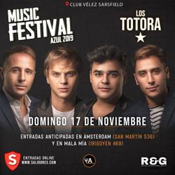 Los Totora en Music Festival 2019