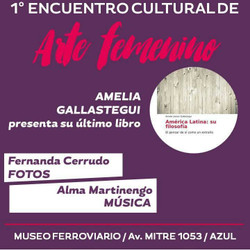 1° Encuentro Cultural de Arte Femenino