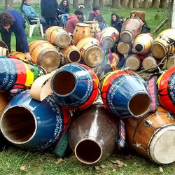 Con candombe, artesanos y espectáculos Orún Aiyé festejará 3 años