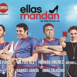 """""""Ellas mandan"""", una divertida comedia con Tomás Fonzi, Matías Alé y elenco en el Español"""