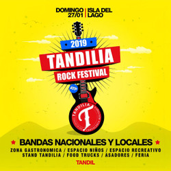 """Los Pericos, Nonpalidece y Dancing Mood para el """"Tandilia Rock Festival"""""""