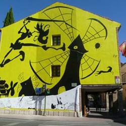 Miguel Rep pintará en Azul un mural alusivo al quijote