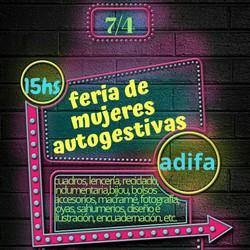 Feria de Mujeres Autogestivas, el domingo en el CC ADIFA