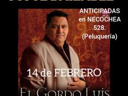 """""""El Gordo Luis"""" llega para San Valentín"""
