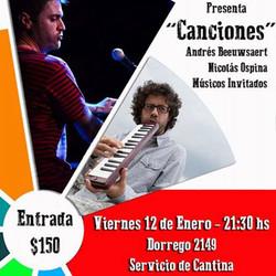 Andrés Beeuwsaert y Nicolás Ospina en Concierto