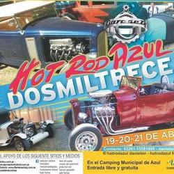 Este fin de semana se realizará una nueva edición del Hot Rod Azul