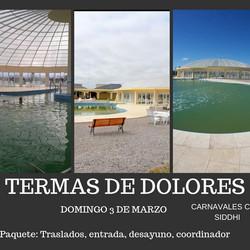 Excursión a las Termas de Dolores