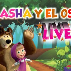 """Llega al Teatro el show musical """"Masha y el Oso"""""""