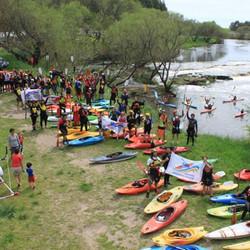 Campeonato zonal de Kayaks