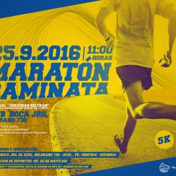 En Azul se realizará una maratón caminata de 5K