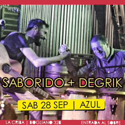 Degrik-Saborido + SUDACA TRIO