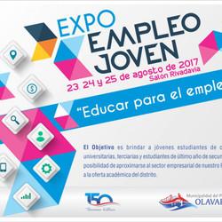 Llega la Expo Empleo Joven 2017