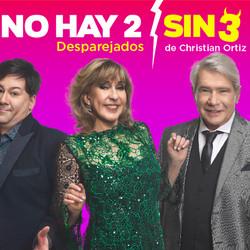 """Llega """"No hay 2 sin 3"""", con Georgina Barbarossa, German Kraus y elenco"""