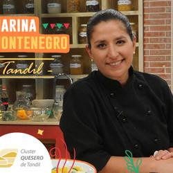 La cocinera Marina Montenegro y el Cluster Quesero presentes en el Oktoberfest Tandil 2017