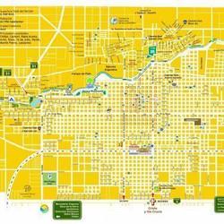Plano de la ciudad de Azul