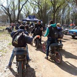 Tapalqué recibió motoqueros de todo el país