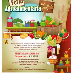 Olavarría prepara para diciembre la Feria agroalimentaria